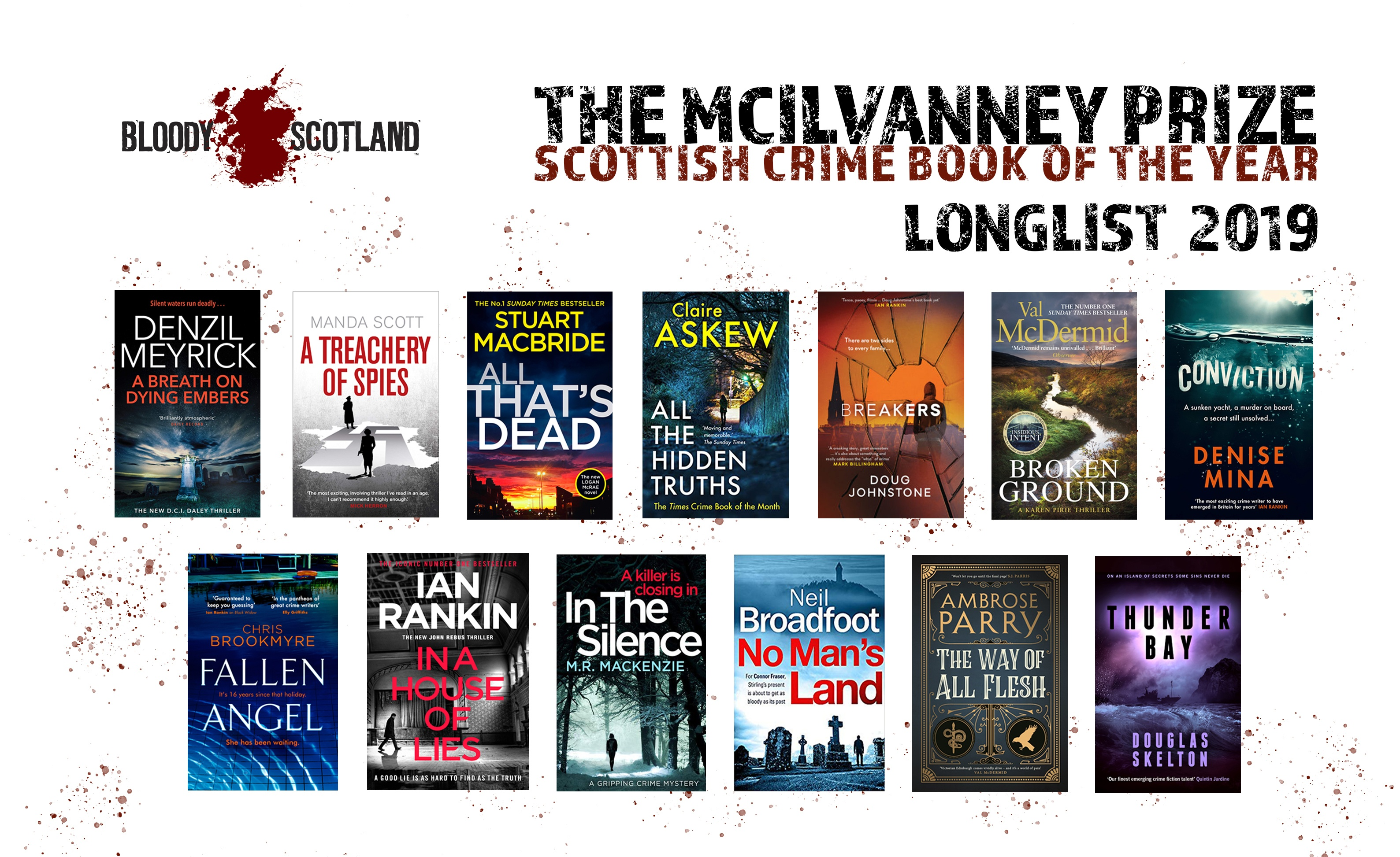 The McIlvanney Prize | Bloody Scotland