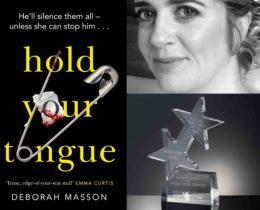 Winner of Bloody Scotland Scottish Crime Debut of the Year 2020, Deborah Masson