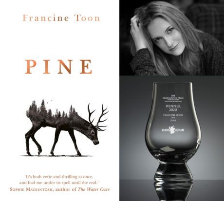 Francine Toon's Pine Winner of Mcilvanney Prize 2020